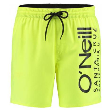 O'Neill PM ORIGINAL CALI SHORTS žlutá - Pánské šortky do vody