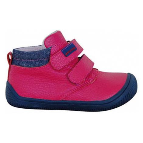 obuv dětská barefoot HARPER FUXIA, Protetika, růžová