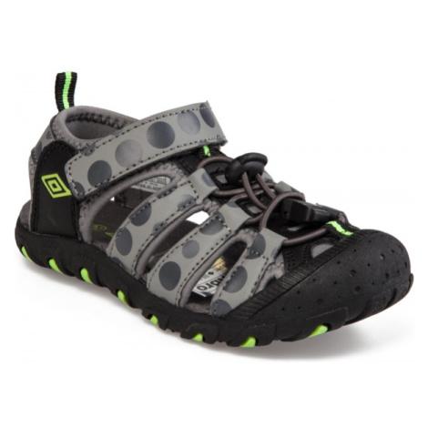 Umbro SEDO šedá - Chlapecké sandály