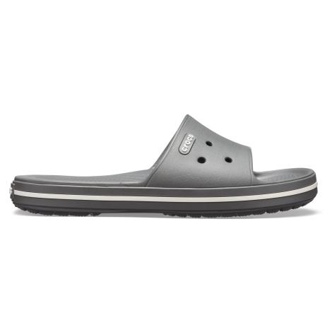 Crocs Crocband III Slide Slate Grey/White