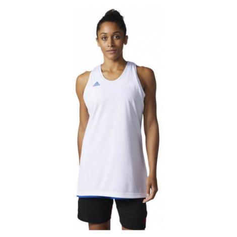 Dámský dres Adidas Performance W Crazy Expl Jr Bílá / Modrá