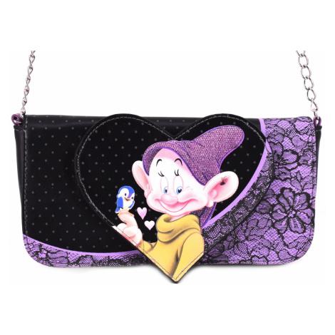Dívčí kabelka Disney - černá/fialová
