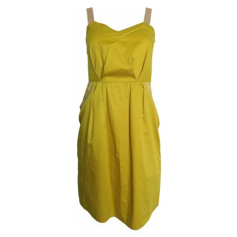 Lehké limetkové šaty Kookai Kookaï