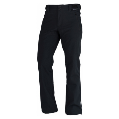 NORTHFINDER GERON Pánské 3L softshellové kalhoty EXTRA SIZE NO-3555OR269 černá