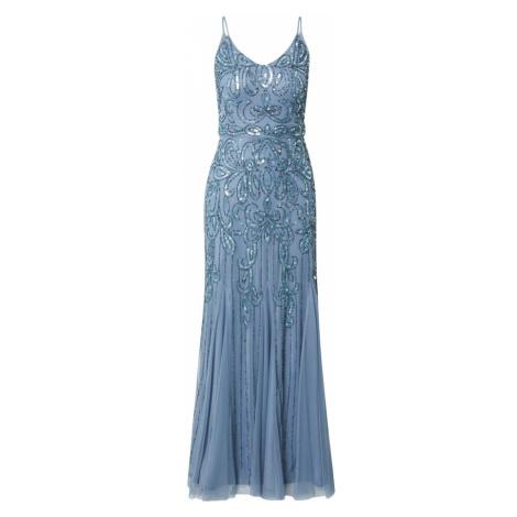 Sistaglam Společenské šaty 'MAE' modrá / tmavě modrá
