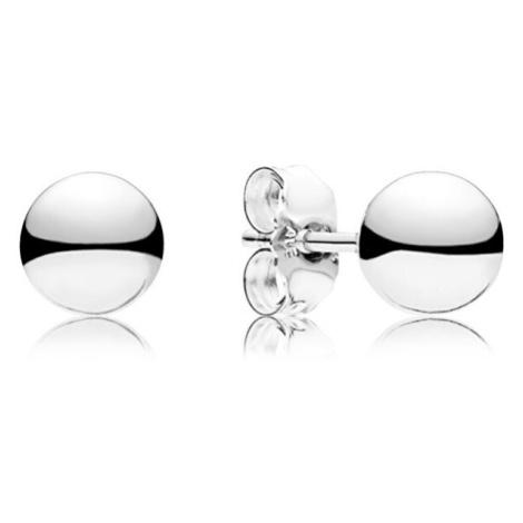 Pandora Stříbrné pecičkové náušnice
