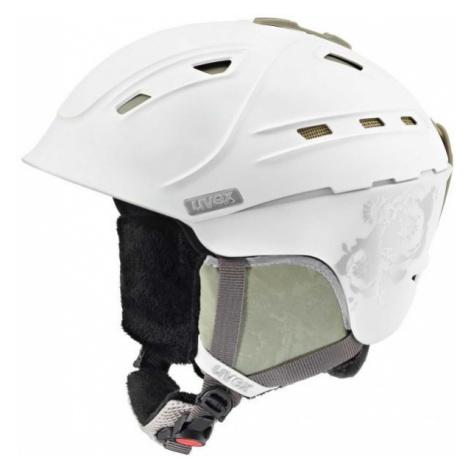 Uvex P2US WL bílá - Dámská lyžařská helma