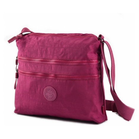 BRIGHT Crossbody kapsa A4 Bright so light Fuxiová, 32 x 6 x 33 (BR18-TKK957-40TX)