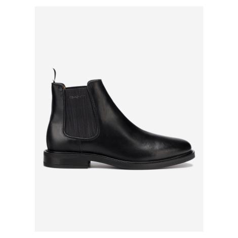 Akron Kotníková obuv Gant Černá