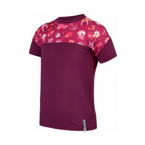 Dětské funkční triko SENSOR Coolmax Impress lilla/girls tattoo