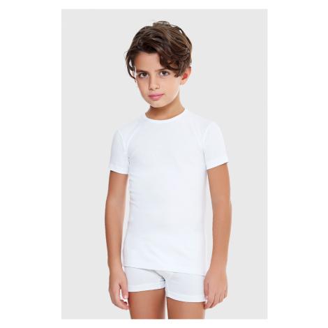 Chlapecké tričko E. Coveri basic bílé Enrico Coveri