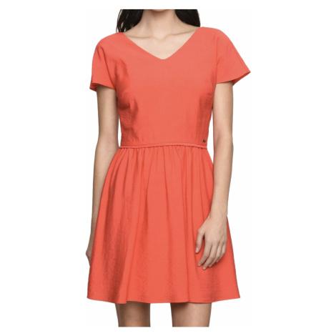 Korálové šaty - ARMANI EXCHANGE