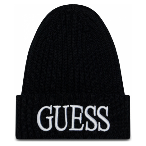 čepice GUESS - Quarto Hats AM8724 WOL01 BLA