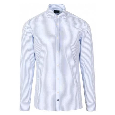 Scalpers Košile 'Fancy' světlemodrá / bílá