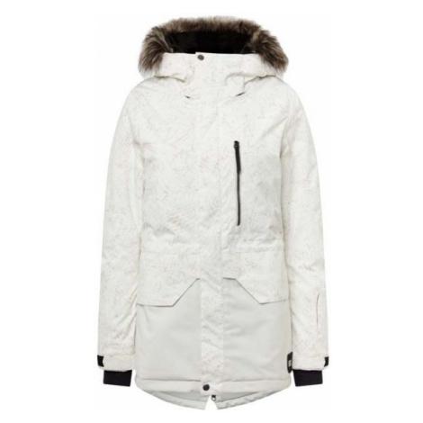 O'Neill PW ZEOLITE JACKET bílá - Dámská lyžařská/snowboardová bunda