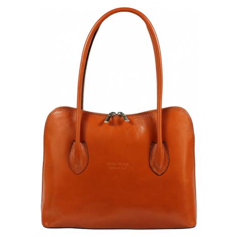 dámská kožená kabelka přes rameno Palagio Camel