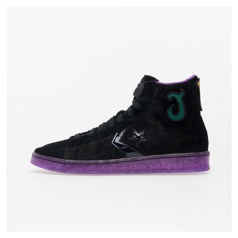 Converse x Joe Fresh Goods Pro Leather Black/ Black/ Amaranth Purple