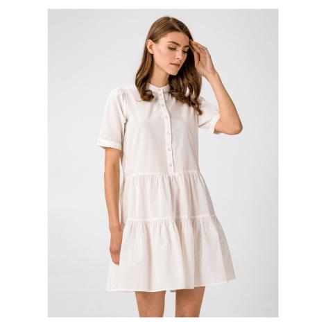 Delta Šaty Vero Moda Bílá
