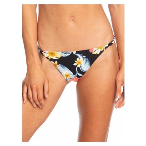Roxy Plavkové kalhotky Dreaming Day Moderate Bottom Anthracite Tropical Love S ERJX403706-KVJ6