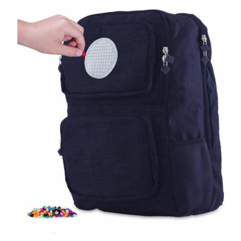 Školní kreativní pixelový batoh modrý PXB-26-85 PIXIE CREW