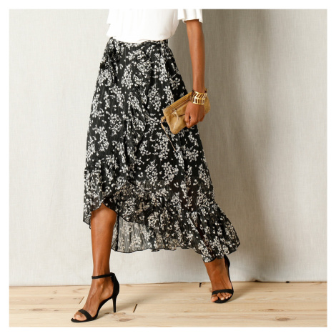 Blancheporte Pouzdrová sukně černá/bílá