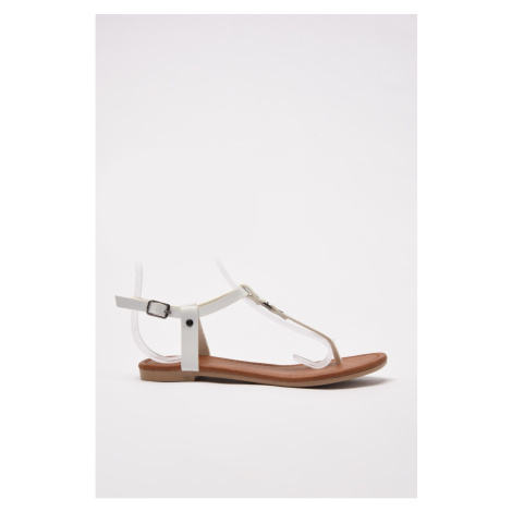 Trendyol White Women Sandals