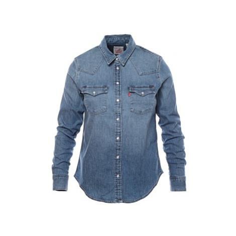Košile Levi´s® Ultimate Western Hazy Blues dámská modrá