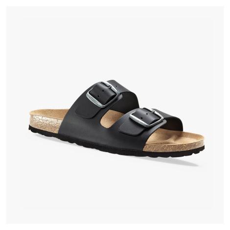 Blancheporte Anatomicky tvarované pantofle černá