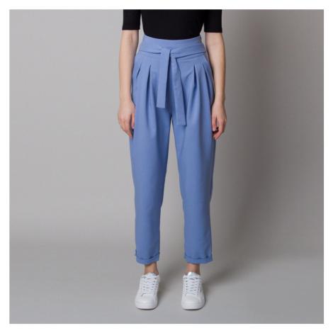 Dámské 7/8 rovné kalhoty modré 12633 Willsoor