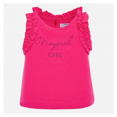 Dívčí triko Mayoral 1070 | růžová