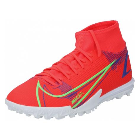 NIKE Kopačky 'Nike Mercurial SF 8 Academy TF' oranžově červená