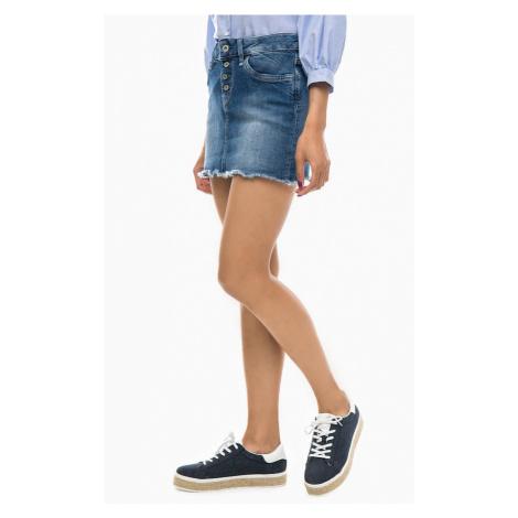 Pepe Jeans Pepe Jeans dámská džínová sukně Sparrow