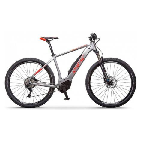 "Elektrokolo MTB 29"" Apache Hawk Bosch Perf. CX šedá - bp, 21"" Apache Bicycles"