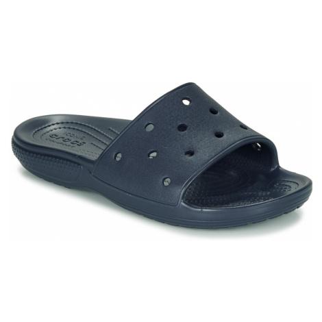 Crocs CLASSIC CROCS SLIDE Modrá
