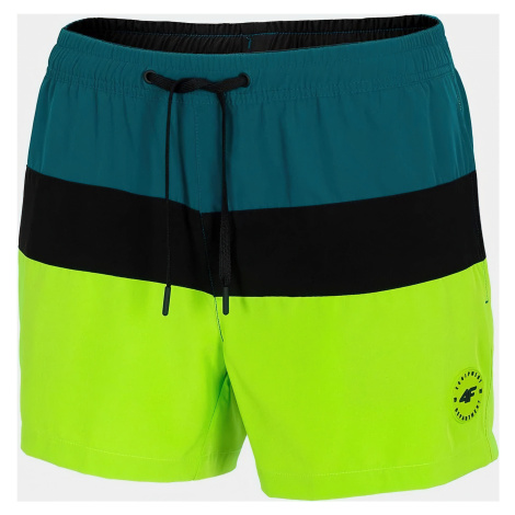 Pánské plážové šortky 4F SKMT201 Zelené