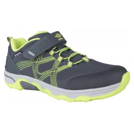 Umbro MATTIAS zelená - Dětská vycházková obuv