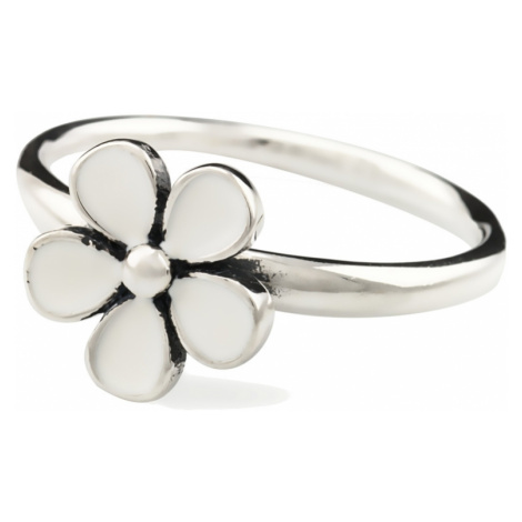 Linda's Jewelry Stříbrný prsten Flower retro IPR002 Velikost: 56