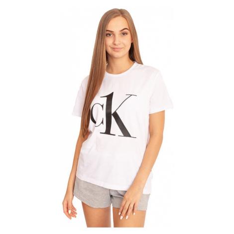 Dámské tričko CK ONE bílé (QS6436E-7UM) Calvin Klein