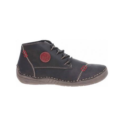 Rieker Dámská kotníková obuv 52502-00 schwarz Černá
