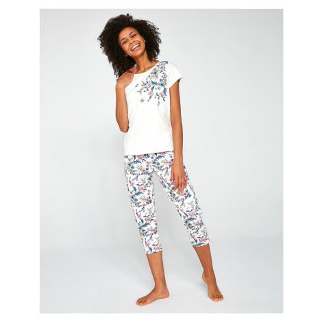 Dámské pyžamo Cornette 670/200 Sophie 3XL-5XL okrová