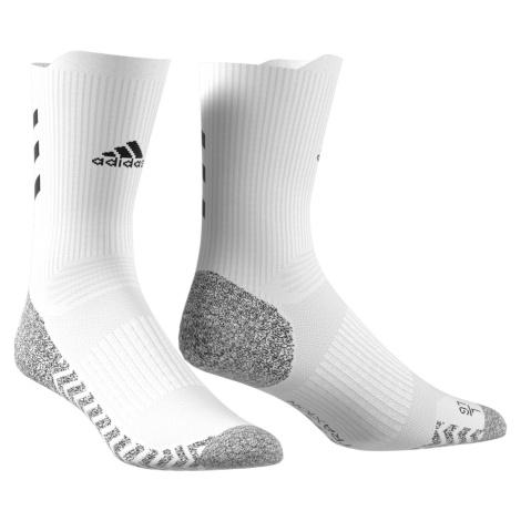 Ponožky adidas Alphaskin Traxion Crew Bílá / Šedá
