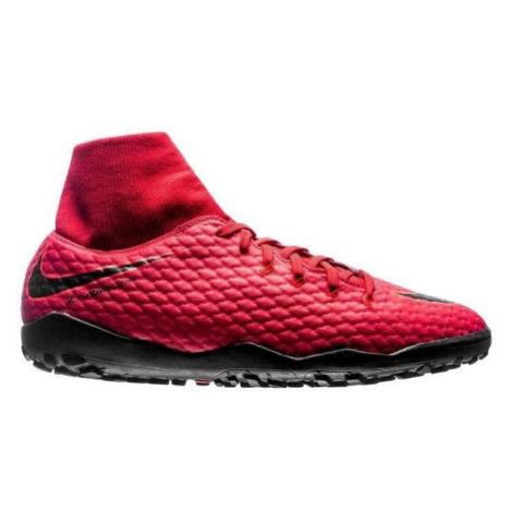 Kopačky Nike HypervenomX Phelon 3 DF TF Červená / Černá