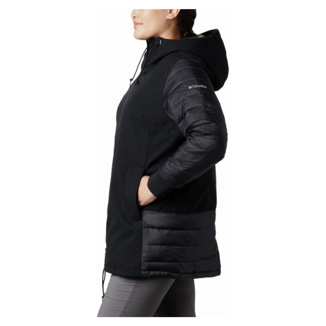Bunda Columbia Boundary Bay Hybrid Jacket - černá