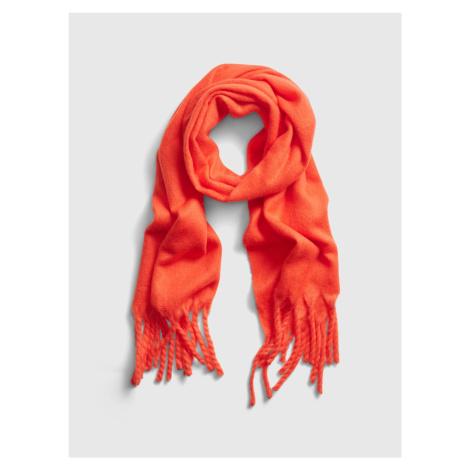 GAP oranžová dámská šála