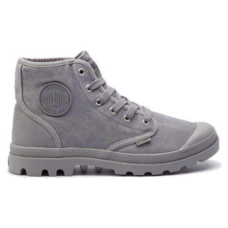 Palladium Boots US Pampa Hi titanium šedé 02352-011-M