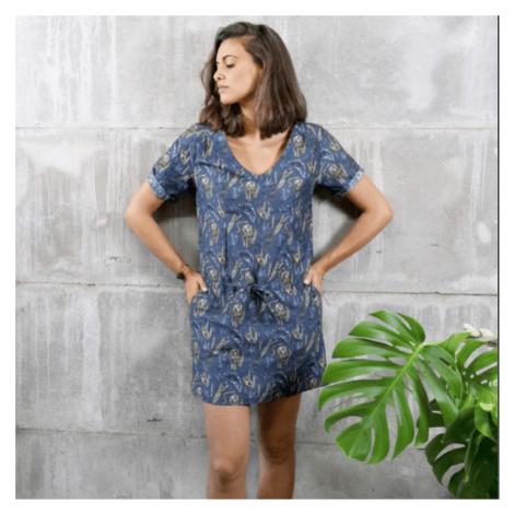Šaty s motivy noční džungle Chemises nach BIJOUX
