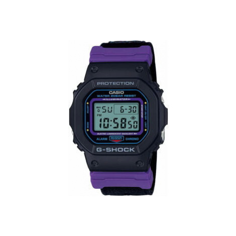 "Casio G-Shock DW 5600THS-1ER ""Throwback 1990s Series"" černé / fialové"