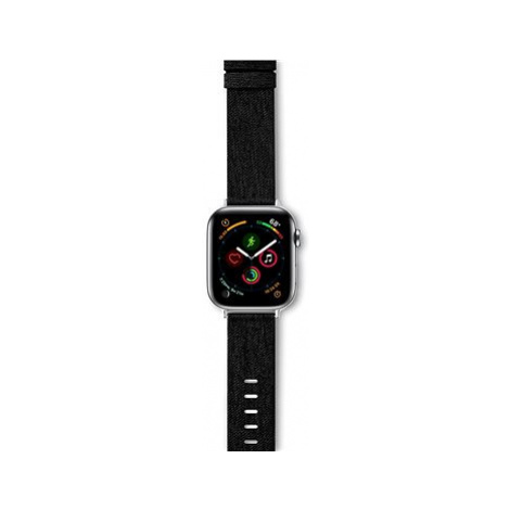 Epico Canvas Band For Apple Watch 38/40mm - černý