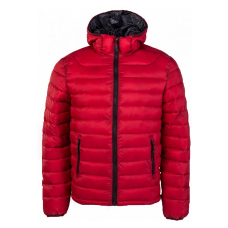 Willard LESS červená - Pánská zateplená bunda