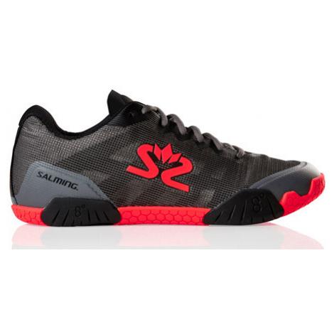 Pánská sálová obuv Salming Hawk Men GunMetal/Red,